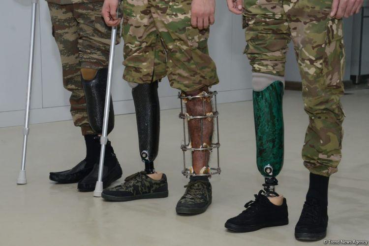 Daha 8 qazi müasir protezlə təmin olundu