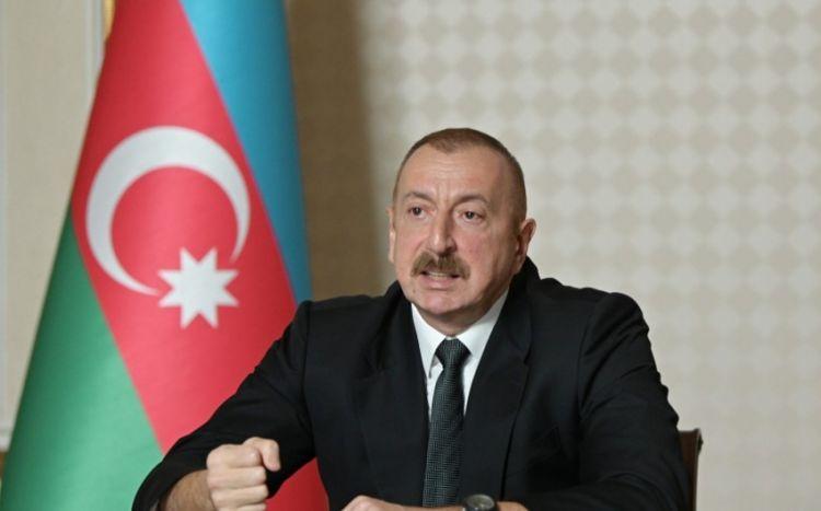"""Prezident:  """"10 noyabr bəyanatı atəşkəsdən daha böyük sənəddir"""""""