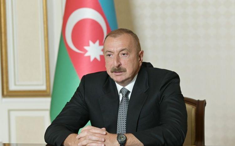 Prezident azad edilən ərazilərdə minaya düşələrin sayını açıqladı
