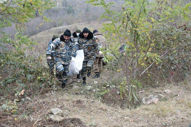 Qarabağda daha 8 erməni hərbçisinin qalıqları tapılıb