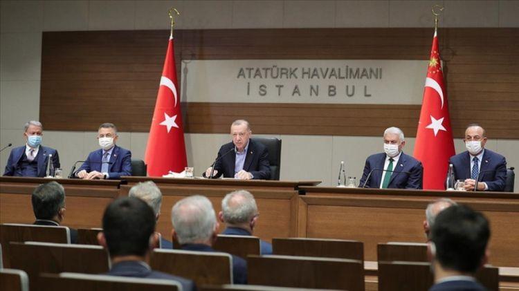 Ərdoğan: Türkiyə-Azərbaycan qardaşlığı bölgənin sabitliyinin təminatıdır