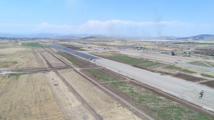 Füzuli aeoroportunda ilk sınaq uçuşunun vaxtı açıqlandı