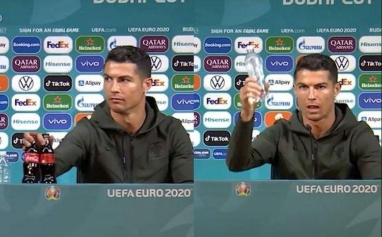 Dünya Ronaldonun bu hərəkətindən danışır - VİDEO