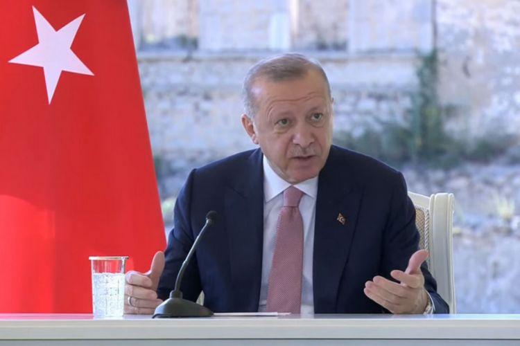 Türkiyə Prezidenti Şuşadan Ermənistana çağırış edib