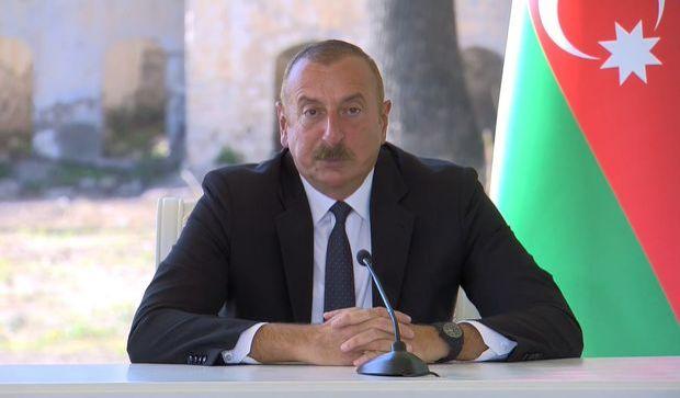 İlham Əliyev:  Şuşada dalğalanan Azərbaycan və Türkiyə bayraqları ölkələrimizin birliyini nümayiş etdirir