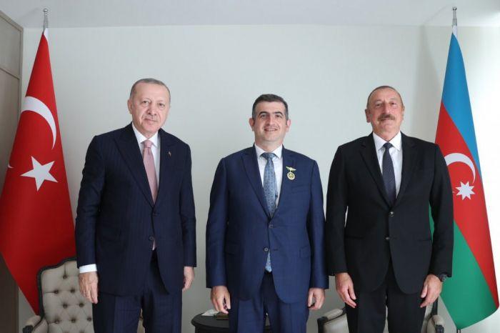 """Haluk Bayraktar """"Qarabağ"""" ordeni ilə təltif edildi"""