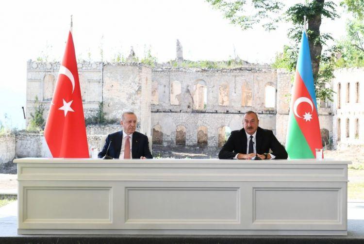 Prezident İlham Əliyev: Şuşadan verilən açıqlamalar bütün dünyaya səs salacaq