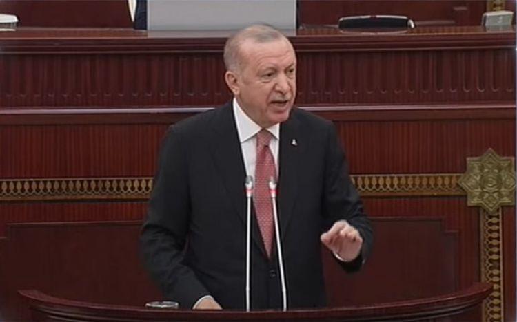 Ərdoğanın Azərbaycan Milli Məclisində çıxışı -  VİDEO