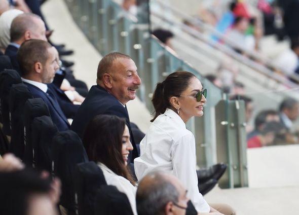 Mehriban Əliyeva Türkiyə-Uels matçından paylaşım edib –  FOTO