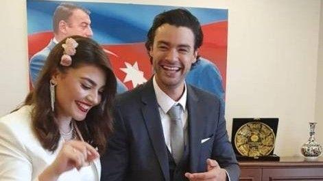 Van Dammın oğlu azərbaycanlı qızla evləndi -  FOTO