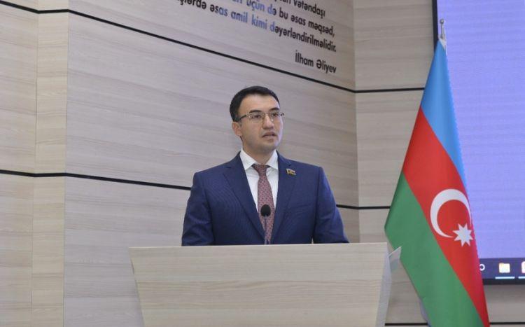 Milli Məclisin deputatına  yeni vəzifə verildi