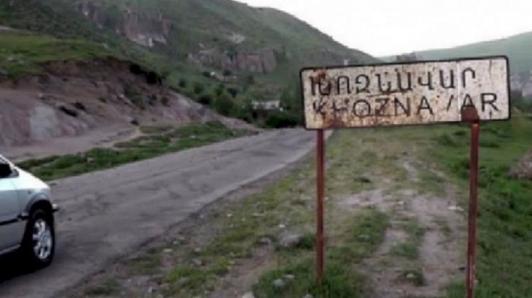 Ermənilər bu kəndi də boşaldırlar