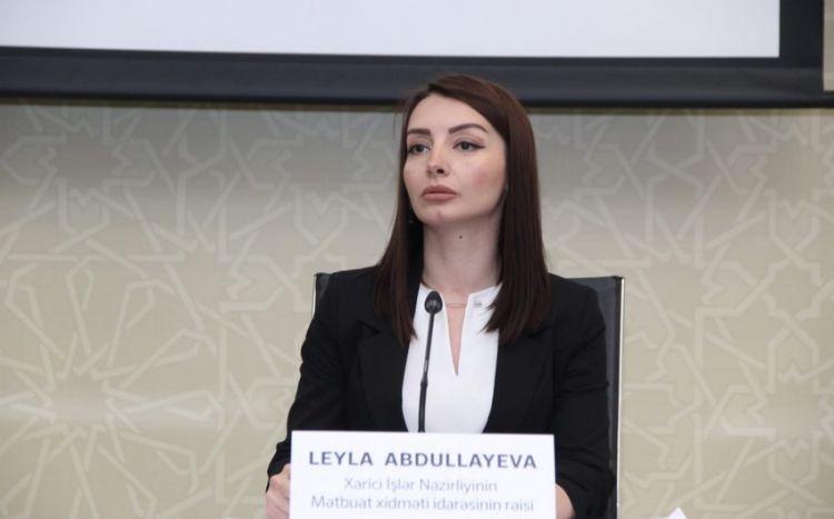 Azərbaycan XİN beynəlxalq təşkilatlara  çağırış etdi