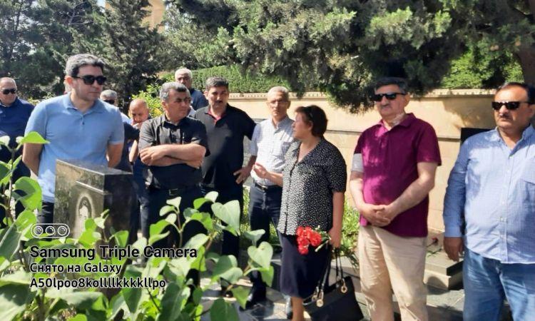 Əfsanəvi komandirin məzarı ziyarət edildi -  ANIM-FOTOLAR