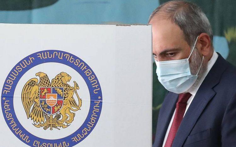 Nikol Paşinyan parlament seçkilərində qalib gəldi