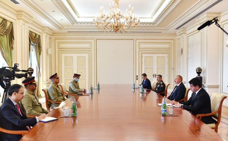 Prezident:  Azərbaycan və Pakistan qarşıdakı illərdə hərbi əməkdaşlığı genişləndirməlidir