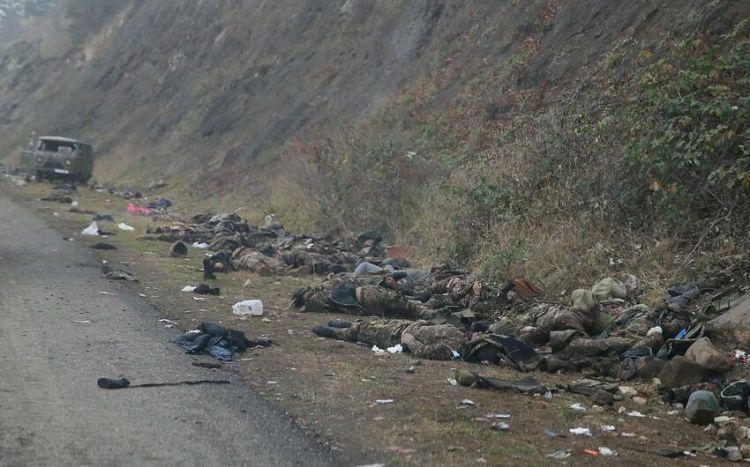 Füzulidə daha  3 erməninin meyiti tapıldı