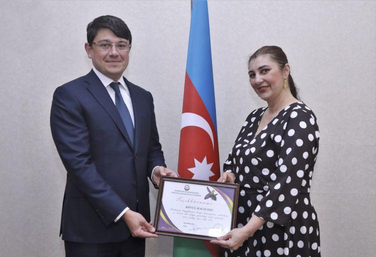 Dövlət Komitəsində diaspor rəhbəri ilə görüş keçirilib
