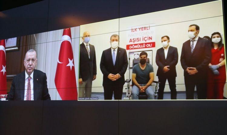 Türkiyənin hazırladığı vaksinin adı açıqlandı -  VİDEO