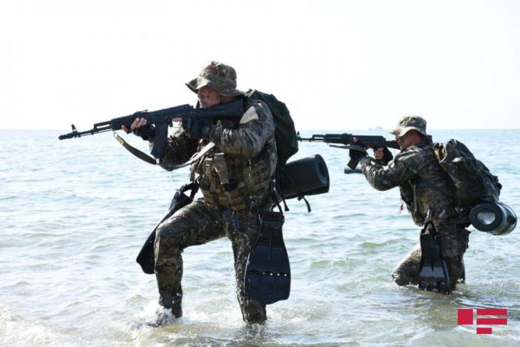 Hərbi Dəniz Qüvvələrinin taktiki təlimlərinin ikinci mərhələsi başlayır