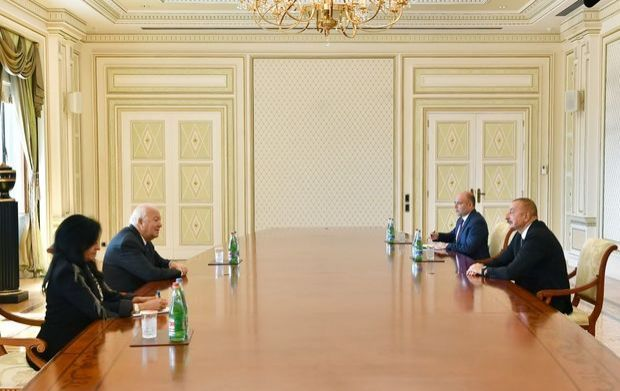 Prezident BMT-nin Sivilizasiyalar Alyansının ali nümayəndəsi ilə görüşdü - YENİLƏNİB