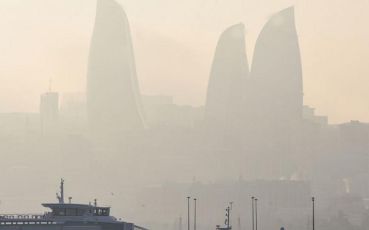 Havada toz dumanı davam edir