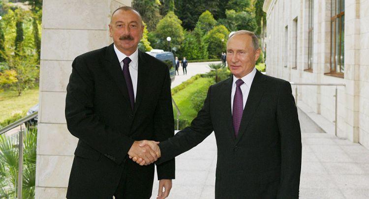 İlham Əliyev Putinlə telefonla danışıb