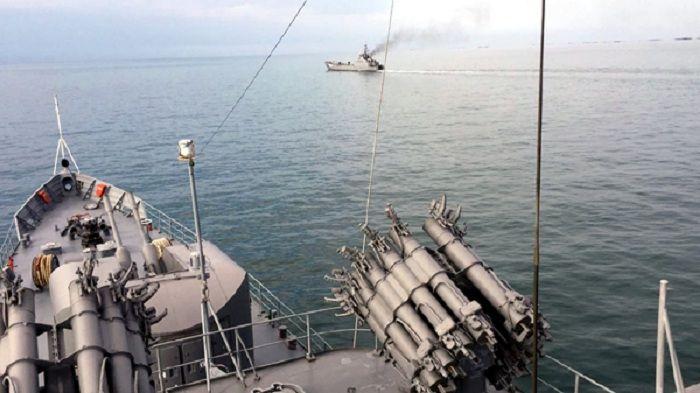 Hərbi Dəniz Qüvvələrinin taktiki təlimləri başa çatıb -  VİDEO
