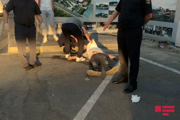 Bakıda sürücü döyülərək öldürülüb - FOTO