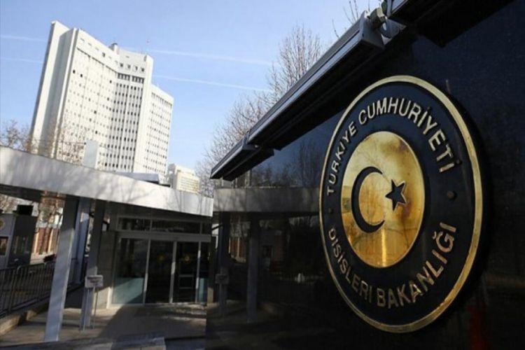 Türkiyə XİN Avropa İttifaqının Türkiyə ilə bağlı qərarlarına etiraz edib