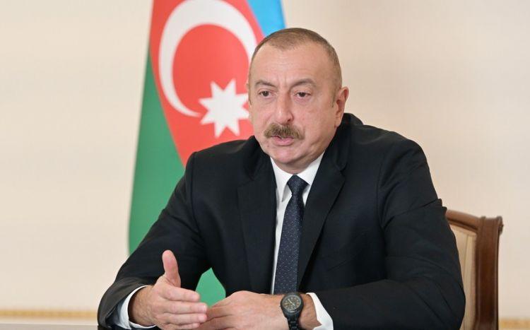 """Prezident:  """"Dağlıq Qarabağ münaqişəsi həll olunub"""""""