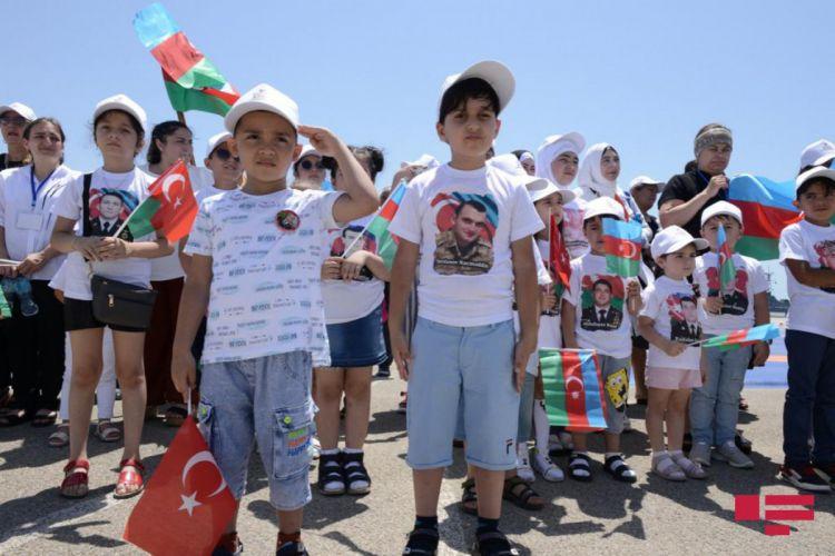 """Şəhid övladları üçün """"Mənim atam qəhrəmandır"""" adlı tədbir keçirilib"""