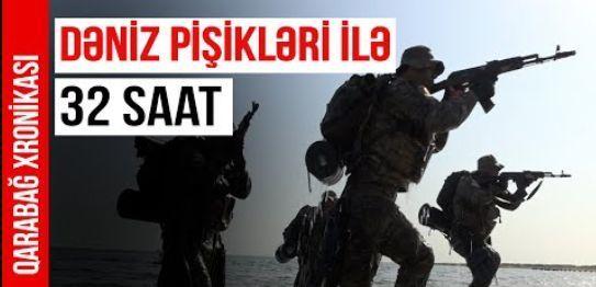 """""""Qarabağ Xronikası""""nın 35-cü buraxılışı –  """"Dəniz pişikləri ilə 32 saat"""" – VİDEO"""