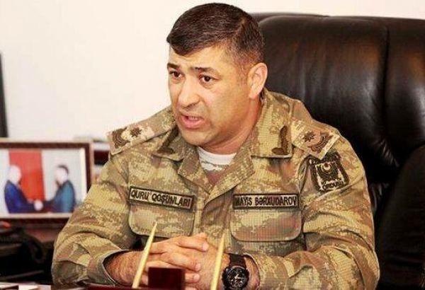 Əsgərlər bir neçə döyüş anında məni qorumaq üçün...- general-mayor Mayis Bərxudarov