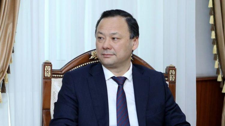 Qırğızıstanın xarici işlər naziri Azərbaycana gəlib