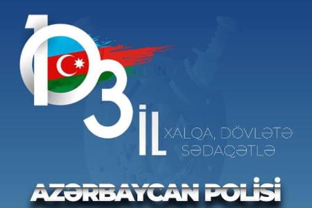 Azərbaycanda Polis Günüdür!