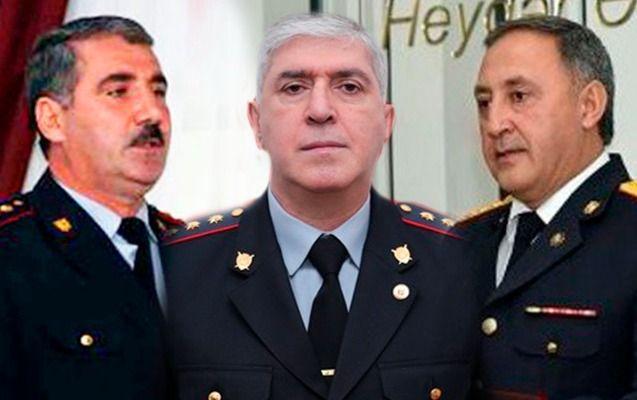 Bu gün general olan polis rəisləri kimdir?