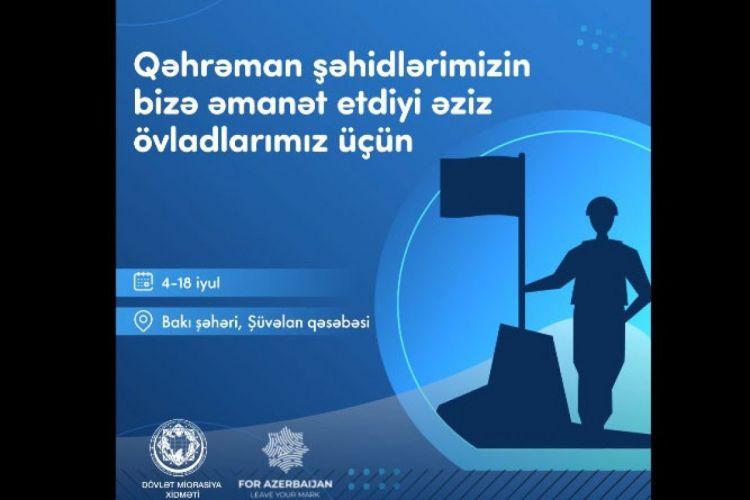 """Şəhid övladları üçün """"Qaliblər düşərgəsi"""" fəaliyyətə başlayacaq"""