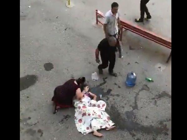 Bakıda gənc qız binanın altıncı mərtəbəsindən yıxılaraq ölüb - VİDEO
