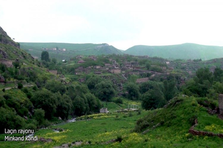 Laçın rayonunun Minkənd kəndi -  VİDEO