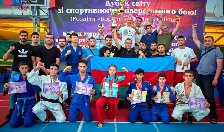 Odessadakı diasporumuz beynəlxalq yarışda Azərbaycan komandasına böyük dəstək göstərib