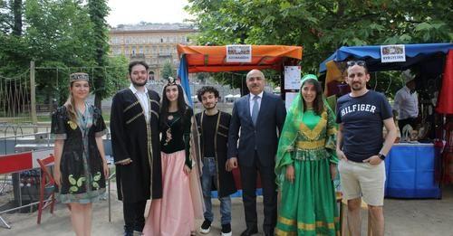Ölkəmiz Praqadakı mədəniyyətlərarası festivalda  təmsil olunub