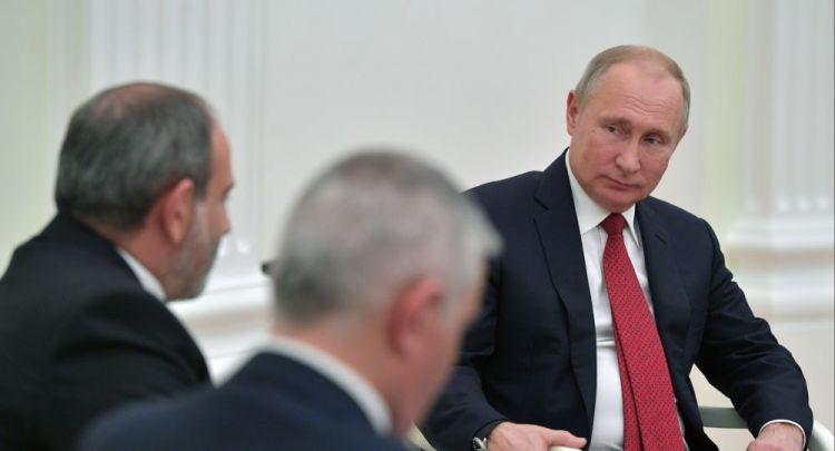 """Paşinyan Moskvaya gedir:  """"7 kənd qaytarılacaq, Mehri dəhlizi açılacaq"""""""