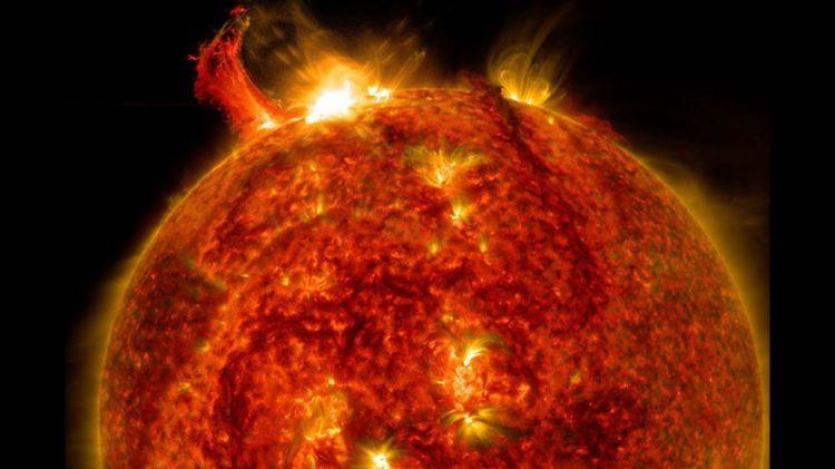 Günəşdə son illərin ən güclü partlaması qeydə alındı