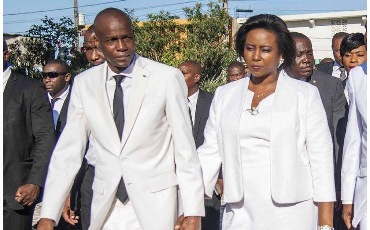 Haitinin qətlə yetirilən prezidentinin xanımı da ölüb