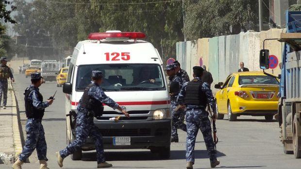 İraqda xəstəxanada həlak olanların sayı 77 nəfər çatıb