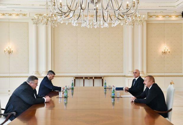 İlham Əliyev Rusiyanın baş nazirinin müavini ilə görüşdü -  YENİLƏNİB