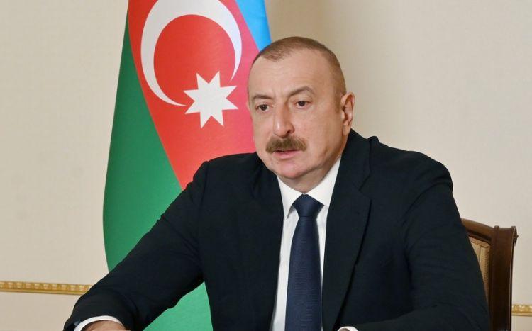 Prezident bütün şəhid ailələri, Qarabağ qazilərinə səsləndi