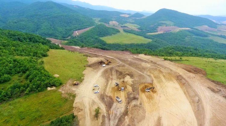 Yeni Əhmədbəyli-Füzuli-Şuşa avtomobil yolunda tunellərin inşasına başlanılıb