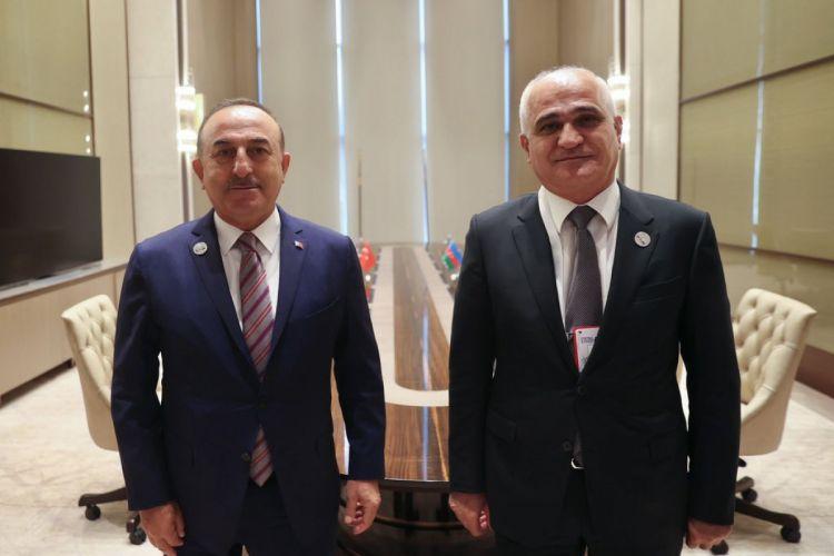 Türkiyə XİN başçısı Şahin Mustafayevlə görüşüb